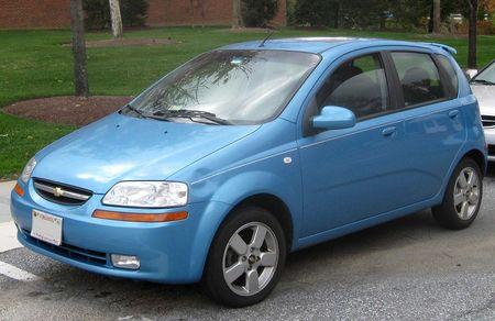 Střešní nosič Chevrolet Aveo
