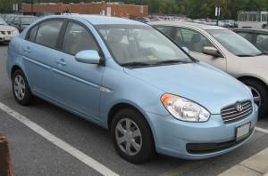 Pneumatiky Hyundai Accent