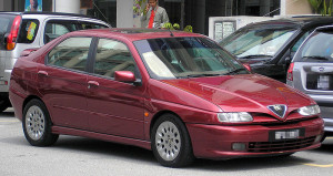 Střešní nosič Alfa Romeo 146
