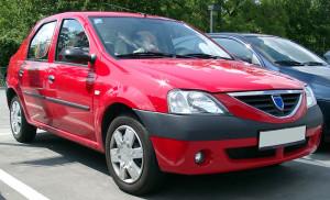 Střešní nosič Dacia Logan