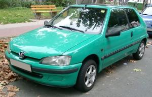 Střešní nosič Peugeot 106