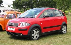 Střešní nosič Audi A2