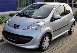 Autobaterie Peugeot 107