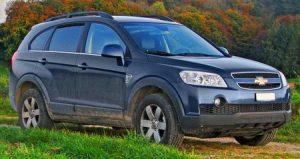 Autopotahy Chevrolet Captiva