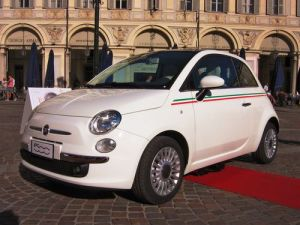 Střešní nosič Fiat 500