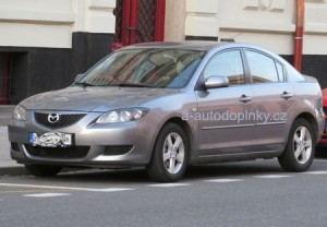 Střešní nosič Mazda3