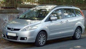Autopotahy Mazda5