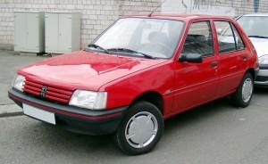 Pneumatiky Peugeot 205