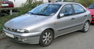 Střešní nosič Fiat Brava