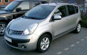 Autopotahy Nissan Note