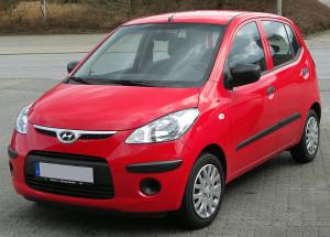 Střešní nosič Hyundai i10