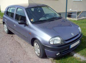 Autopotahy Renault Clio