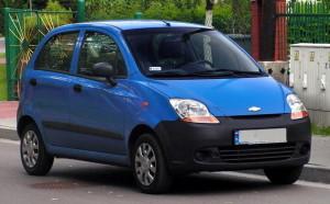 Autobaterie Chevrolet Spark