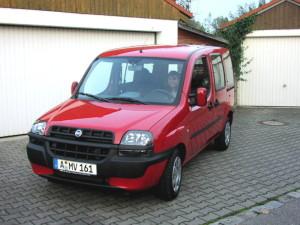 Střešní nosič Fiat Doblo