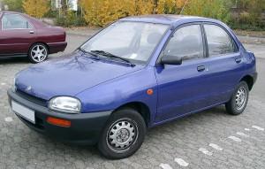 Střešní nosič Mazda 121