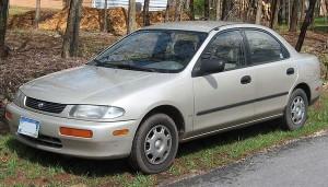 Autobaterie Mazda 323