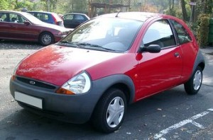 Autobaterie Ford Ka
