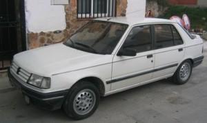 Autobaterie Peugeot 309