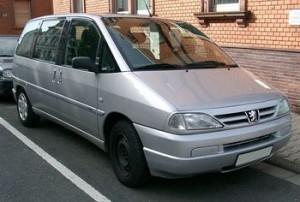 Střešní nosič Peugeot 806