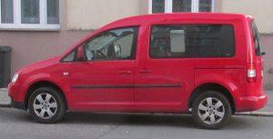VW Caddy osobní verze