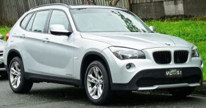 Střešní nosič BMW X1