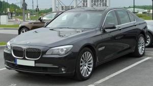 Střešní nosič BMW 7