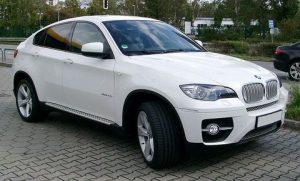 Autosklo BMW X6