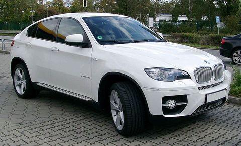 Střešní nosič BMW X6