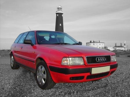 Střešní nosič Audi 80
