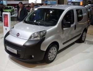 Střešní nosič Fiat Fiorino
