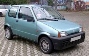 Pneumatiky Fiat Cinquecento