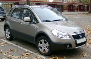 Pneumatiky Fiat Sedici