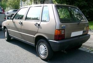 Autobaterie Fiat Uno