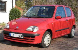 Autopotahy Fiat Seicento