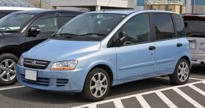 Střešní nosič Fiat Multipla