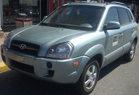 Tlumiče Hyundai Tucson