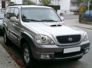 Střešní nosič Hyundai Terracan
