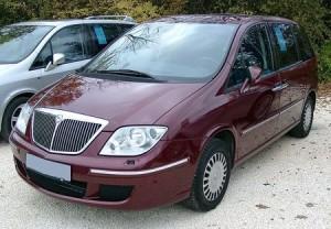 Střešní nosič Lancia Phedra