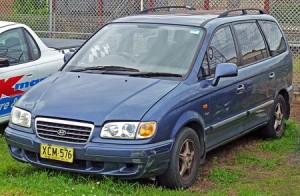 Střešní nosič Hyundai Trajet
