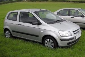 Střešní nosič Hyundai Getz