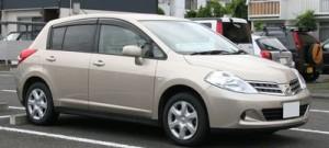 Autobaterie Nissan Tiida