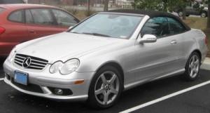Autobaterie Mercedes-Benz třídy CLK