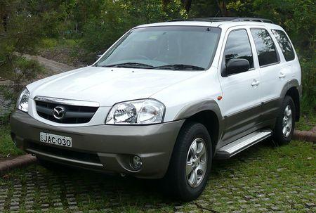 Střešní nosič Mazda Tribute