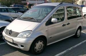 Střešní nosič Mercedes Benz Vaneo