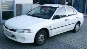 Střešní nosič Mitsubishi Lancer