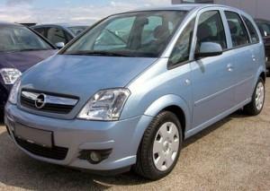 Střešní nosič Opel Meriva