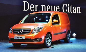 Střešní nosič Mercedes Benz Citan