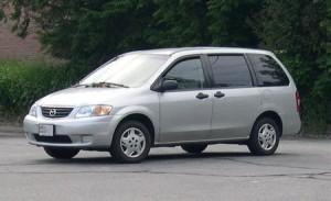 Střešní nosič Mazda MPV