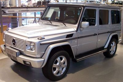Autobaterie Mercedes-Benz třídy G