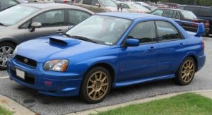 Autopotahy Subaru Impreza